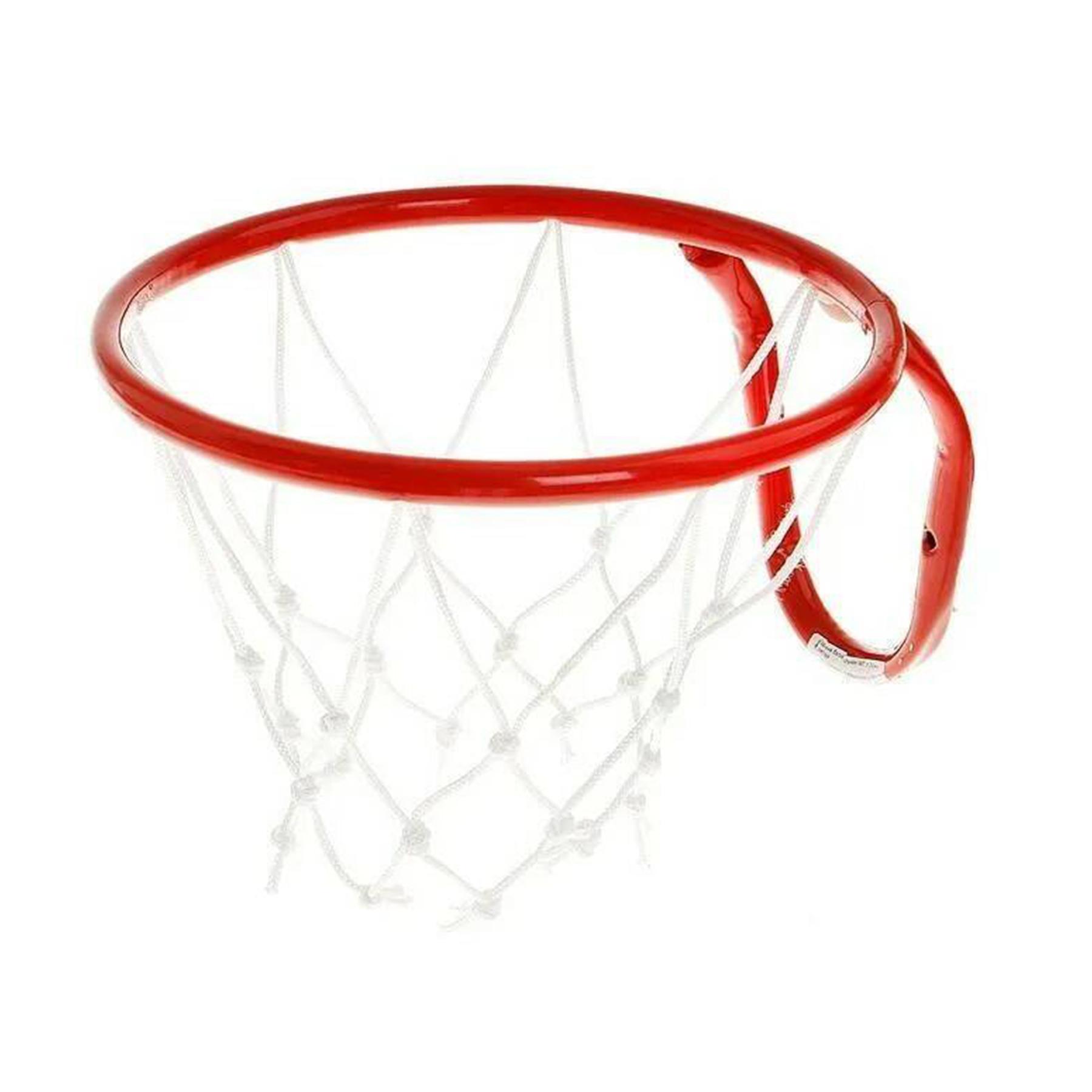Кольцо баскетбольное d=380 mm с сеткой №5 т
