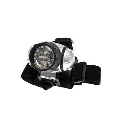 Фонарь Космос KOC-H14-LED налобный с элем.пит. 3*ААА (R03) 3 реж.яркости, миг.режим