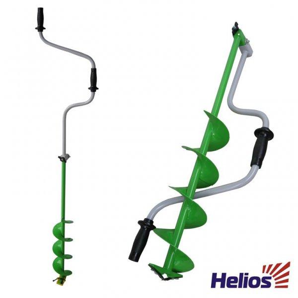 Ледобур Helios HS-150D (складной шнековый d бурения - 150мм, глубина 1м, вес 2,5кг)