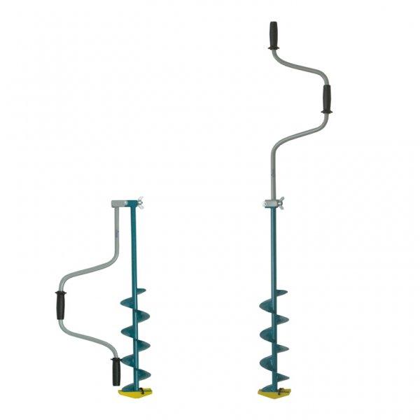 Ледобур Тонар ЛР-100 (складной шнековый d бурения - 100мм, глубина 1м, вес 2,3кг)