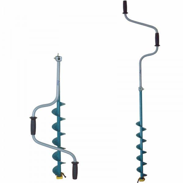 Ледобур Тонар ЛР-100Д (двуручный d бурения - 100мм, глубина 1м, вес 2,4кг) АКЦИЯ!
