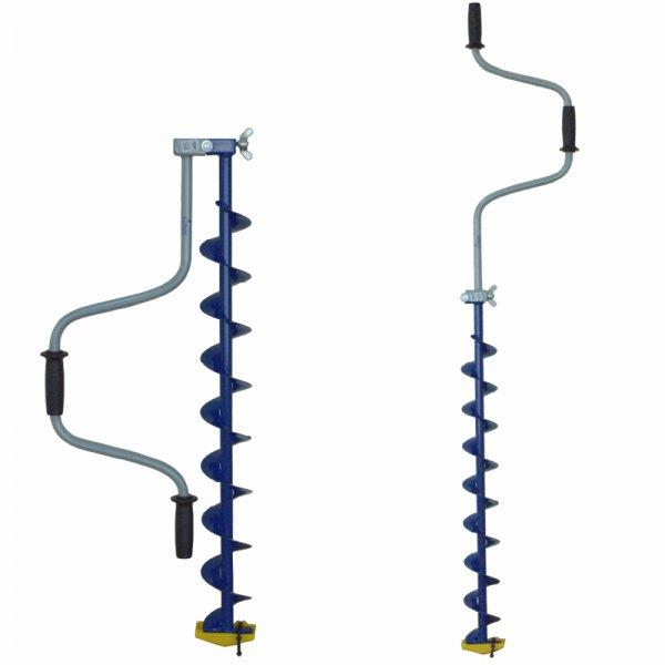 Ледобур Тонар ЛР-100С (спортивный d бурения - 100мм, глубина 1,1м, вес 3кг)
