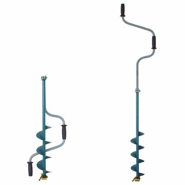 Ледобур Тонар ЛР-130Д (двуручный d бурения - 130мм, глубина 1м, вес 2,6кг)