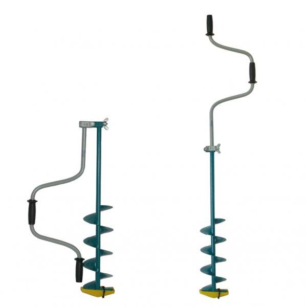 Ледобур Тонар ЛР-150 (складной шнековый d бурения - 150мм, глубина 1м, вес 2,7кг)