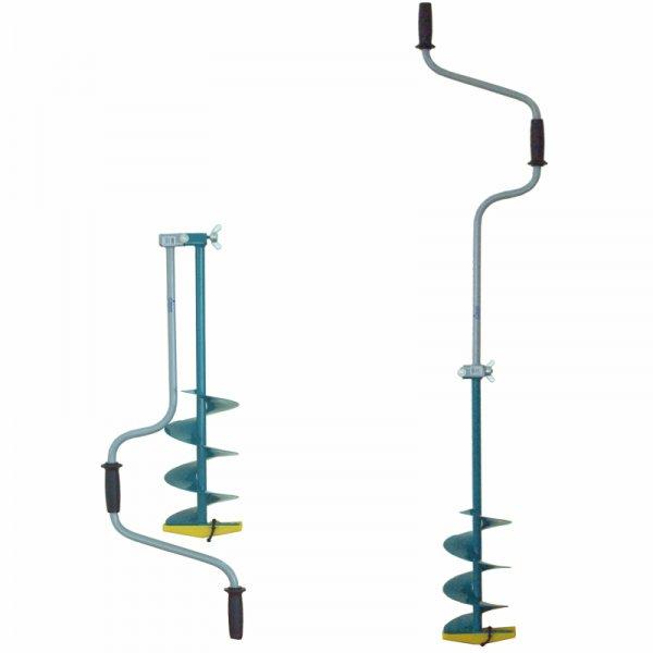 Ледобур Тонар ЛР-180Д (двуручный d бурения - 180мм, глубина 1м, вес 3,2кг)