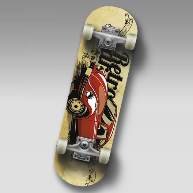 """Скейт SC BEETLE JR Mini-board  22"""""""