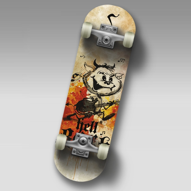 "Скейт SC HELLBOY JR Mini-board  22"""