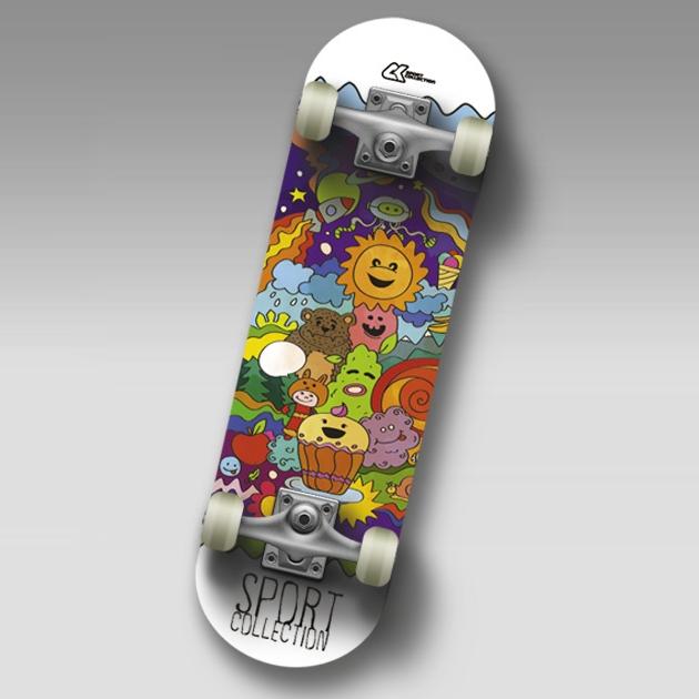 "Скейт SC MUFFIN JR Mini-board  22"""
