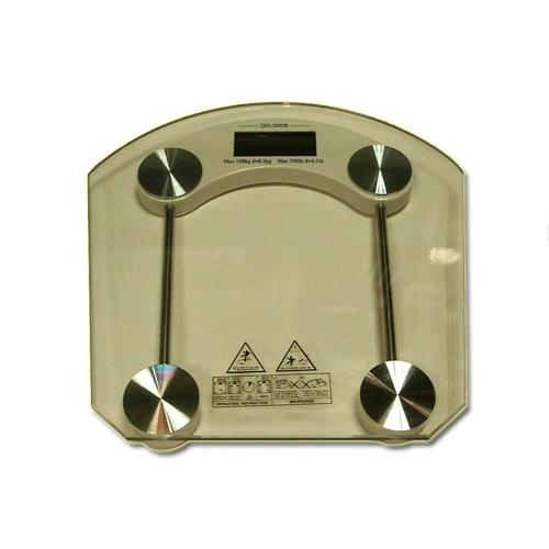 Весы напольные электронные 2003 В/А2 квадратные прозр.стекло  07349