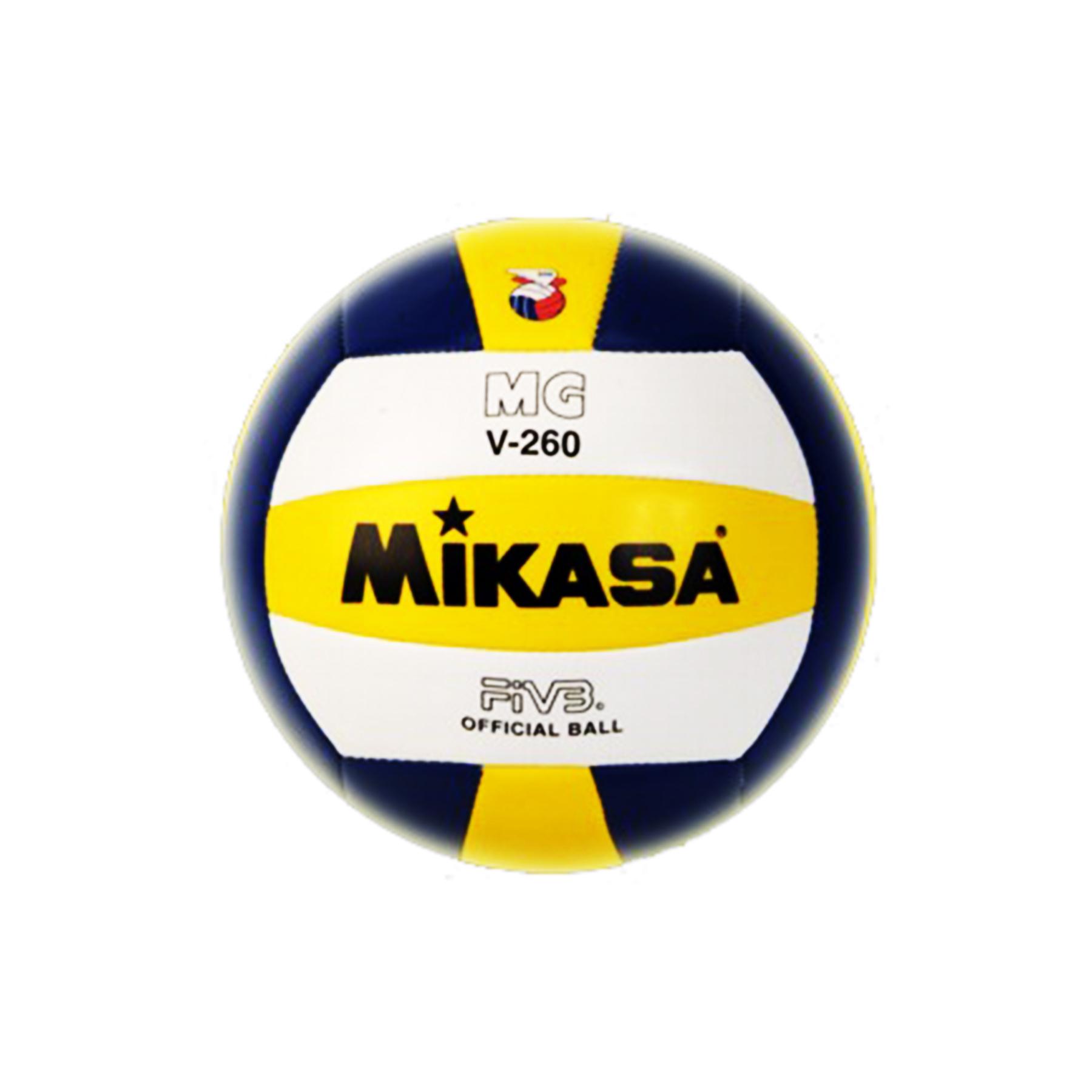 Мяч в/б Микаса MGV-WBK 500 цветной №5  для тренир,мягкая синт кожа,маш сшивка,бутил камера