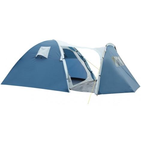Палатка Торнадо 3 арт.РТ-2369-3  (двухсл., водост.1500мм, 355*185*135см, тамбур 140см, два входа)