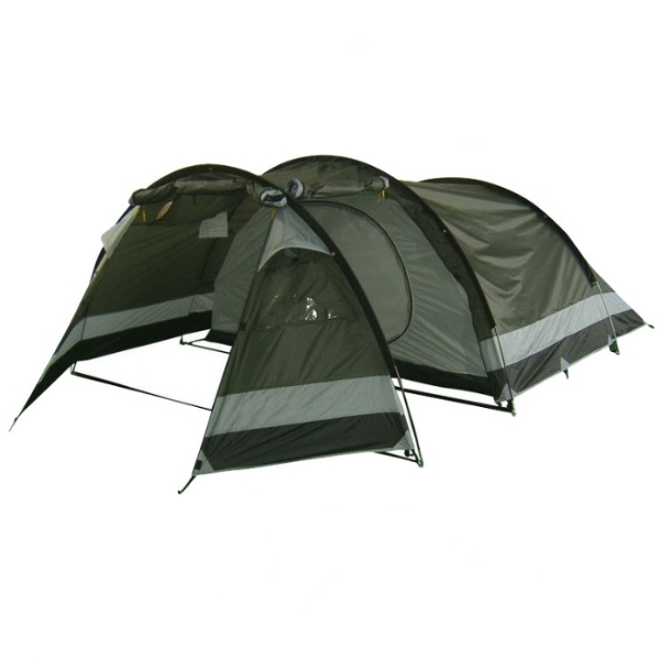 Палатка Афродита 4 арт.РТ-307-4  (двухсл., водост.2000мм, 450*260*130см, тамбур 185см, два входа)