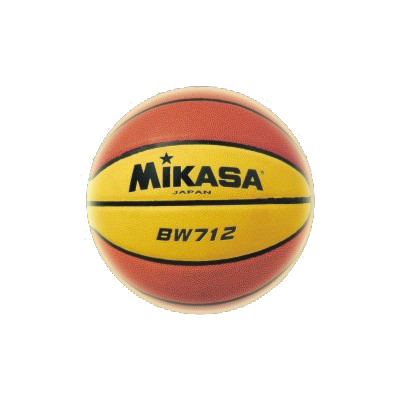 Мяч б/б Микаса BW 712 №7 трениров синт кожа, нейлон корд, бутиловая камера, 12-ти панельный дизайн