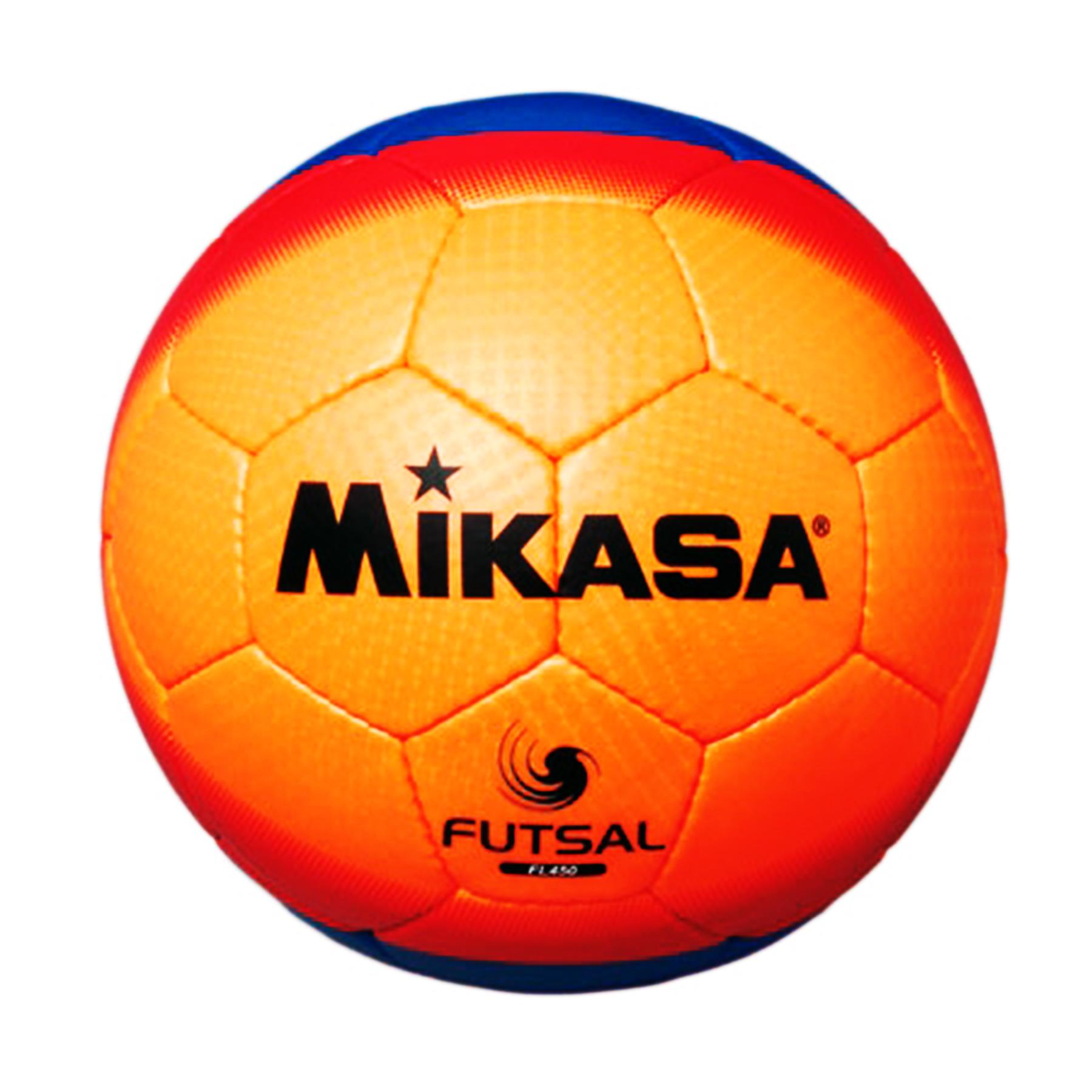 Мяч ф/б Микаса минифутбол FL 450 ОRB №4 низк отскок оранж-крас-синий