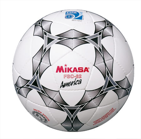 Мяч ф/б Микаса минифутбол FSC-62 America №4 трениров,низк отскок,ламинир ПУ,ручная сшивка