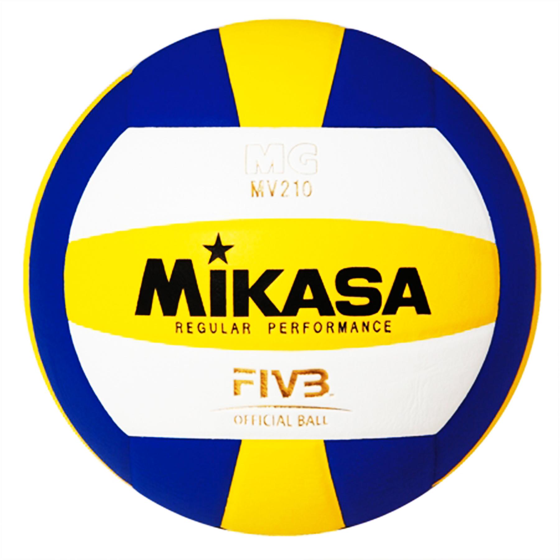 Мяч в/б Микаса MV 210 для тренировок, клееный, япон.синт.кожа