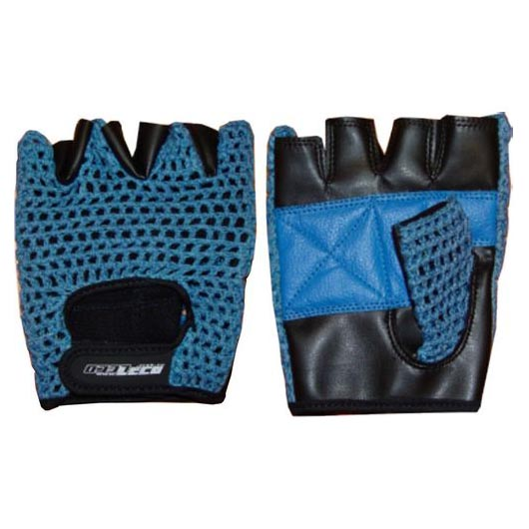 Перчатки для фитнеса и тяж.атлетики ПРО кожа/сетка р. L (т11125-3)