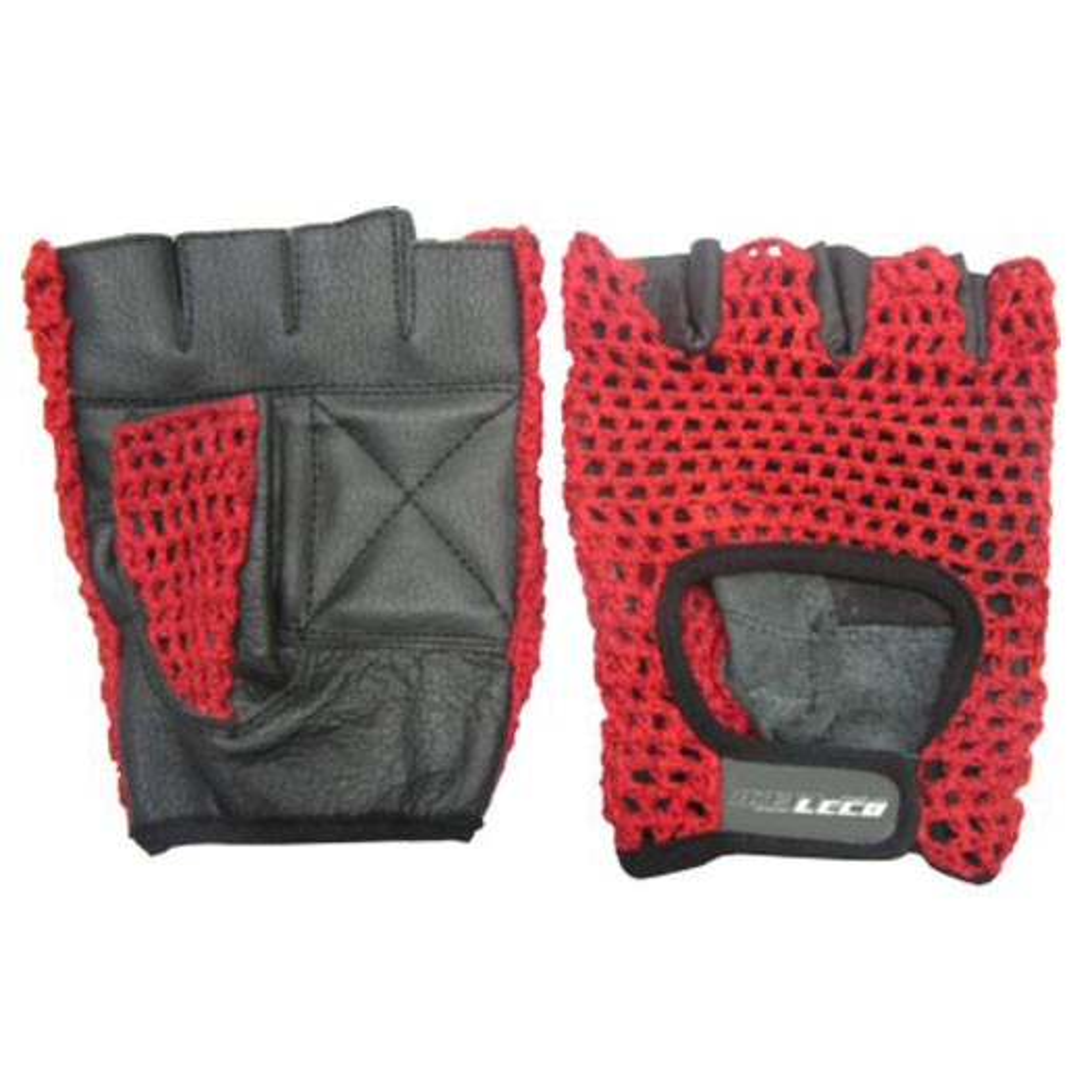 Перчатки для фитнеса ХОУМ кожа/сетка р. M (т11120-2)