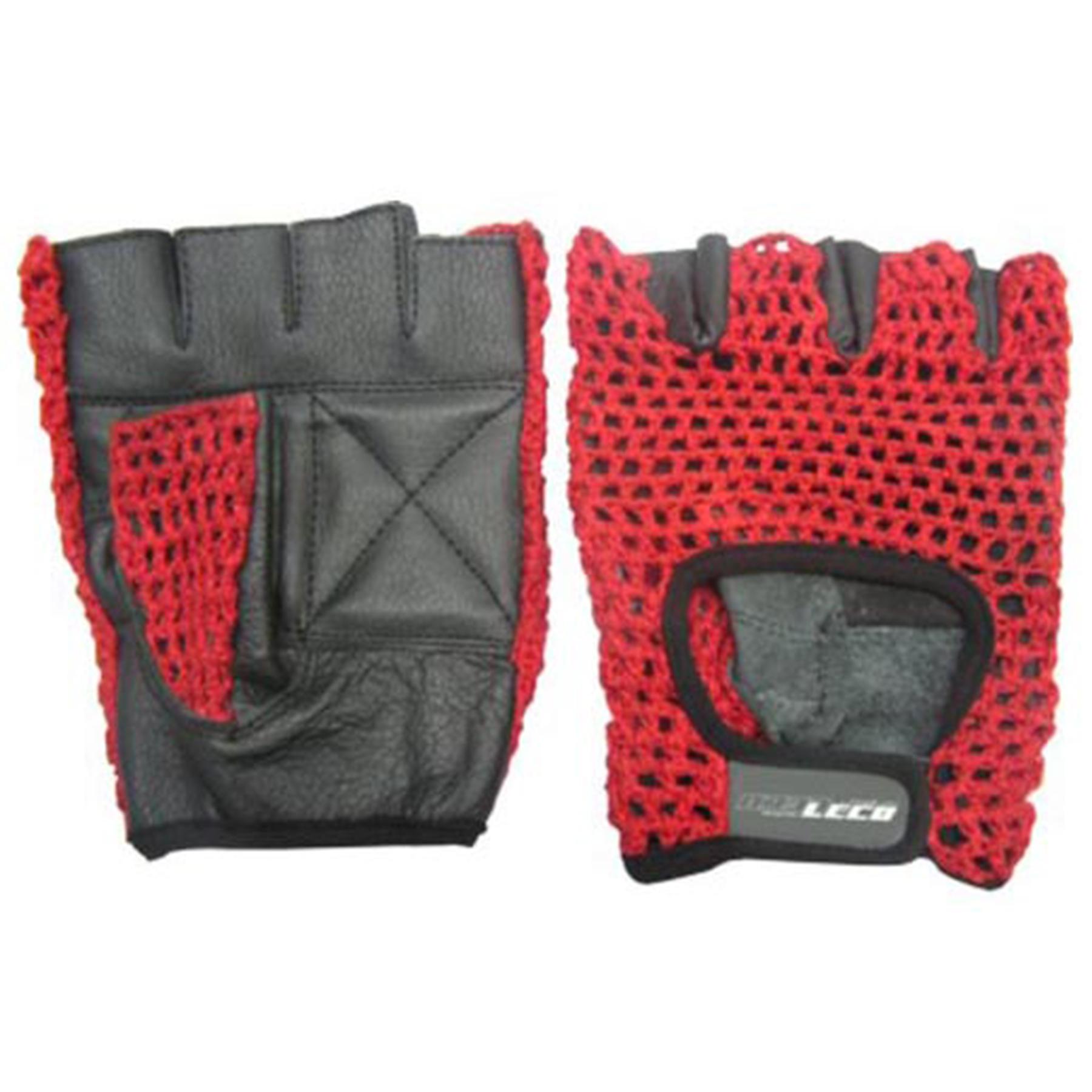 Перчатки для фитнеса ХОУМ кожа/сетка р. S (т11120-1)