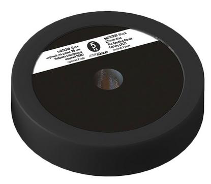 Диск Леко d-26 мм 5 кг черный, пластик покрытие (гп020299)
