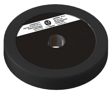 Диск Леко d-26 мм 2,5 кг черный, пластик покрытие (гп020298)