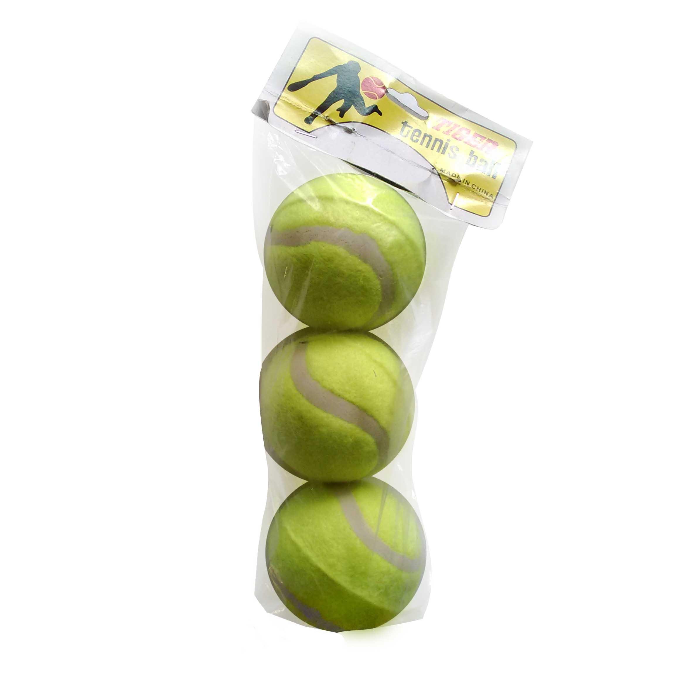 Мяч б/т TIGER 3шт/уп (цена за 1 шт) (0160)