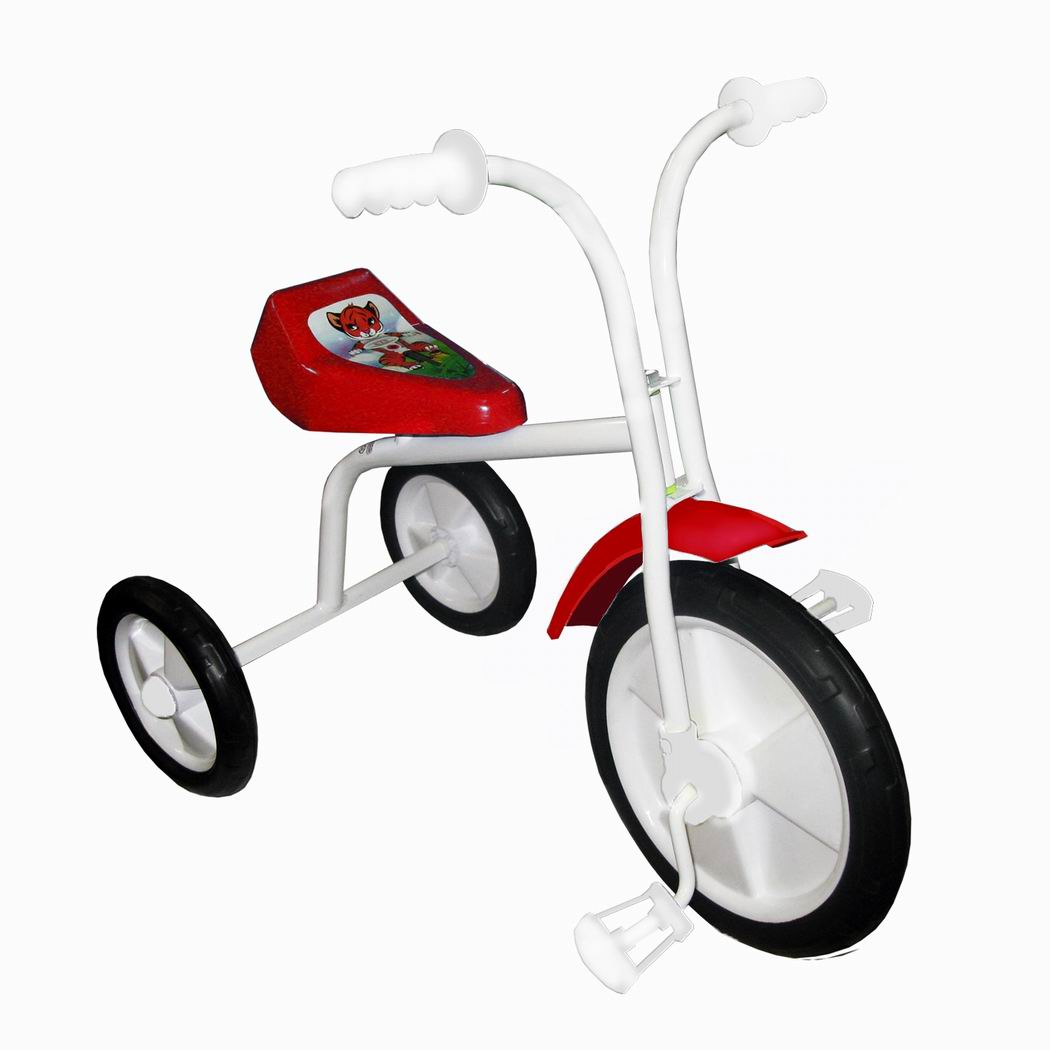 "Велосипед ""Малыш"" мод. 01ПН розовый (пласт.кол., без гудка, без перед.панели) УЦЕНКА!"