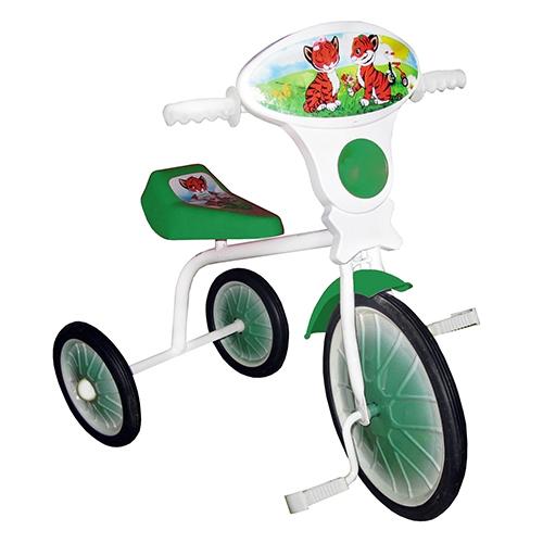 """Велосипед """"Малыш"""" мод. 01 зеленый (метал.кол.)"""