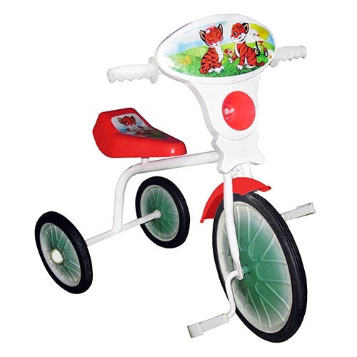 "Велосипед ""Малыш"" мод. 01 розовый (метал.кол.)"
