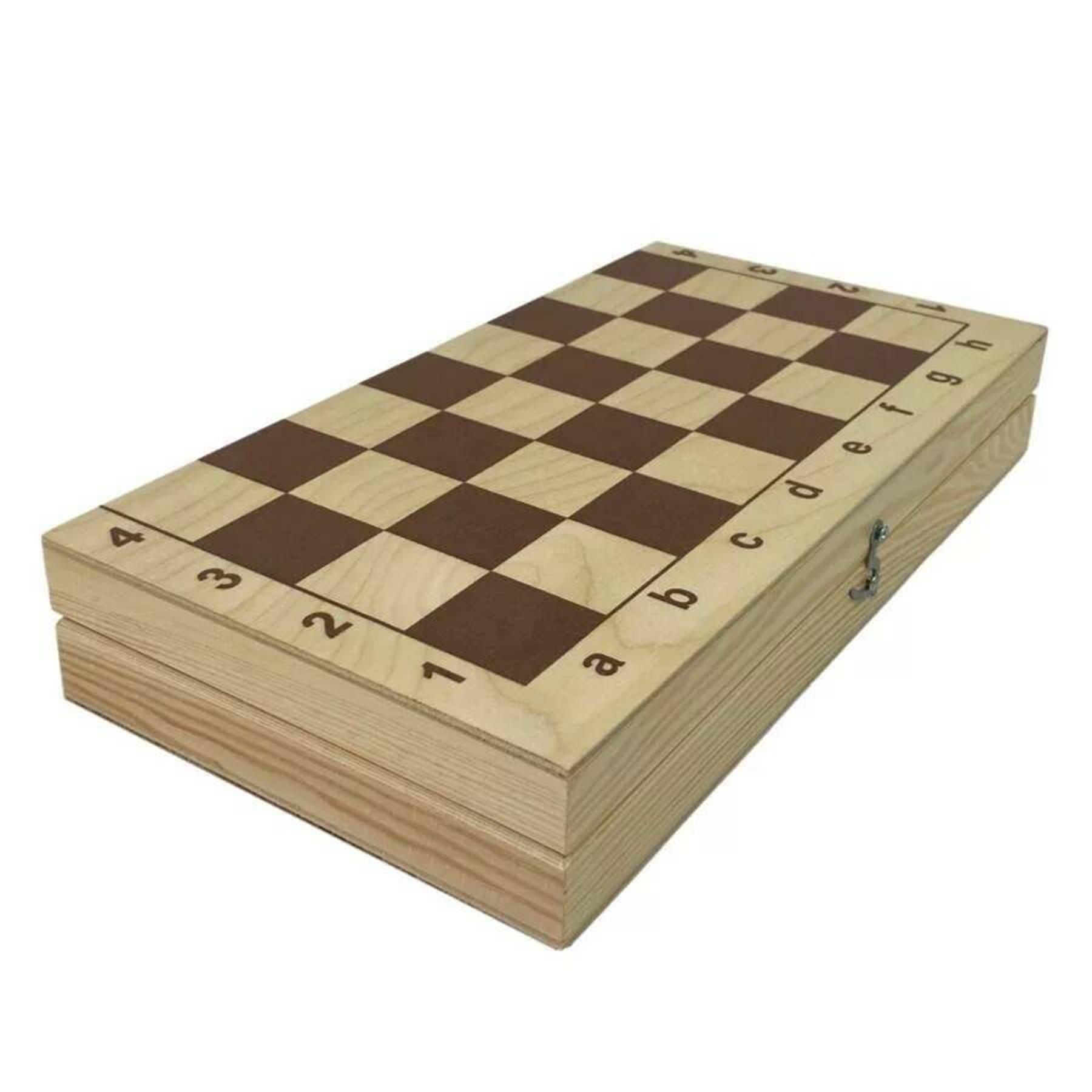 Доска * шахматная обиходная лакированная 290*145*38