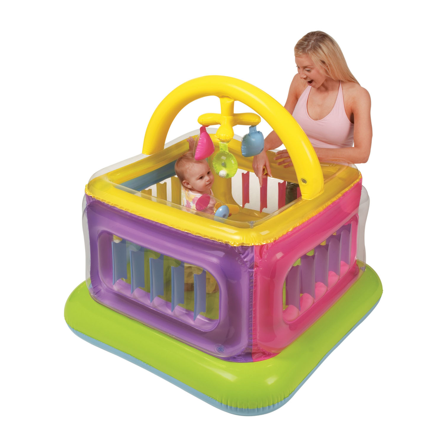 48472 Манеж детский с игрушками 117х117х114см АКЦИЯ!!!!!