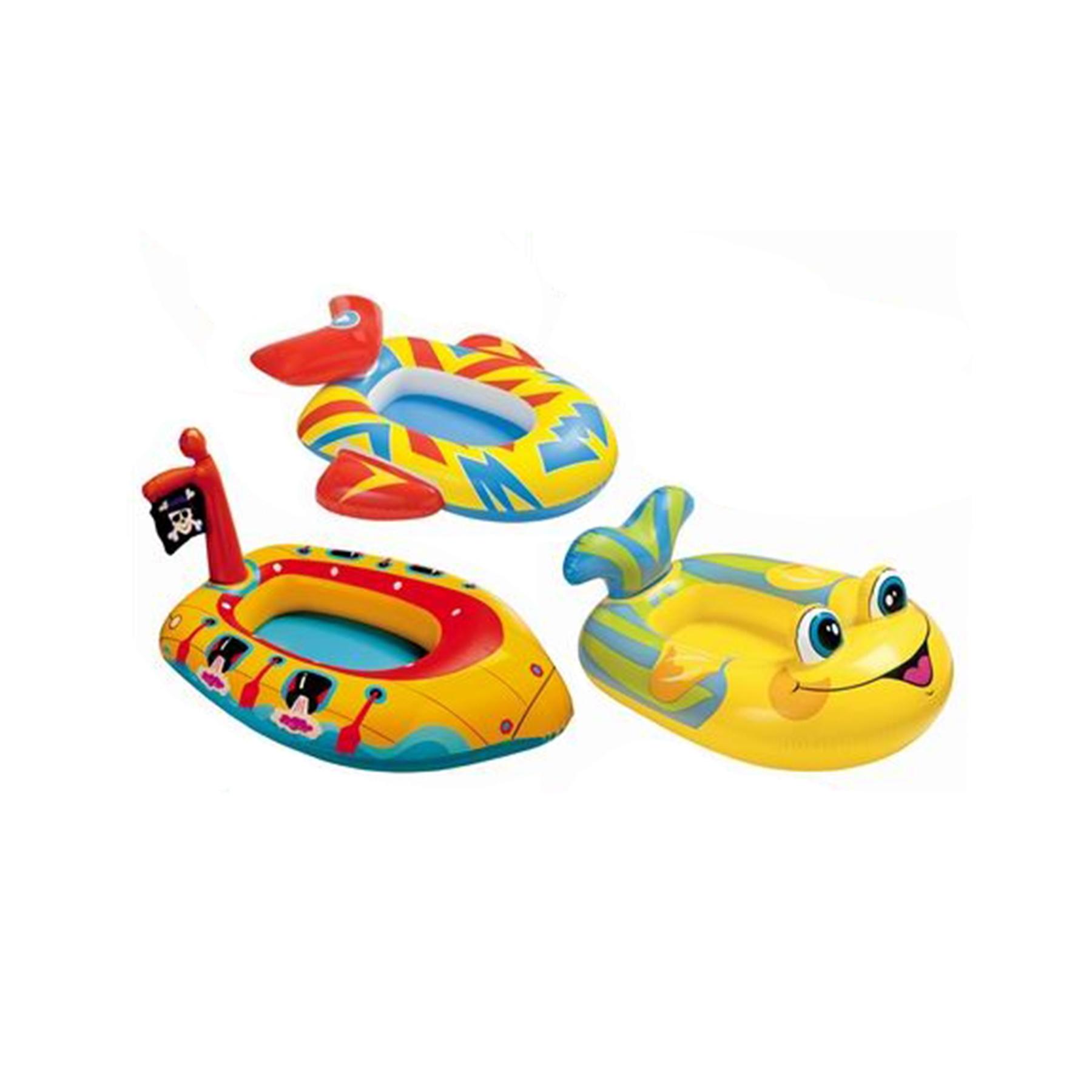 59380 Лодка детская Машина/Такси/Рыбка 3-6 лет