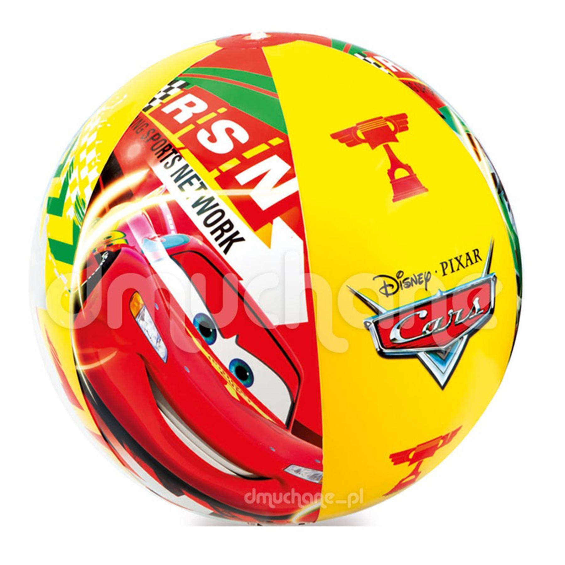 58053 Мяч Тачки 61 см от 3-х лет