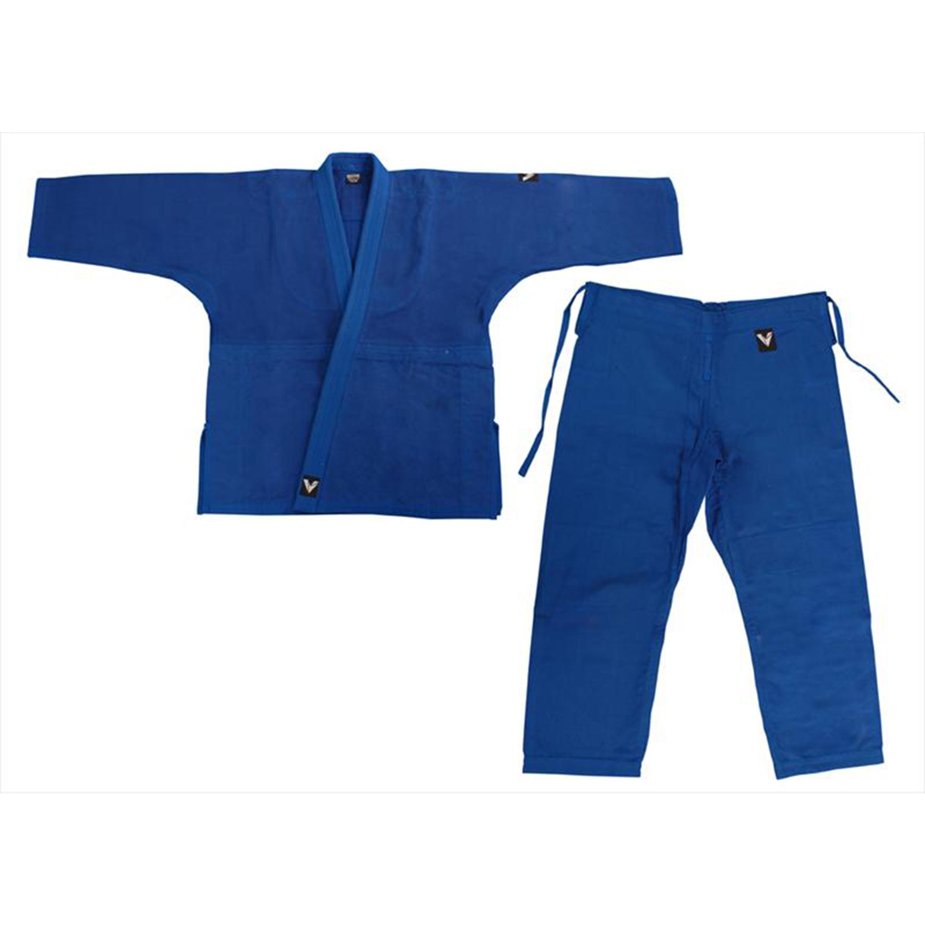 Кимоно дзюдо синее мастерское 56-58/200 4255С-7