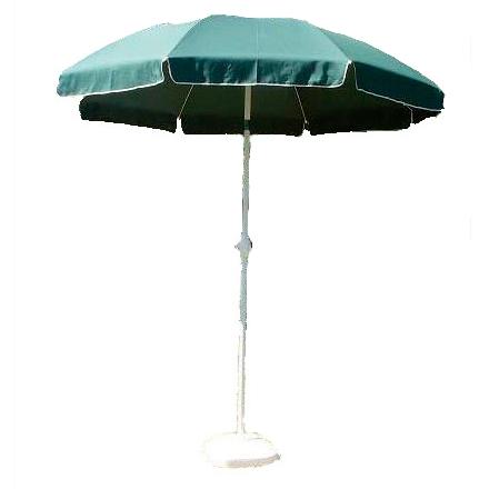 """Зонт складной d=2,5м """"Садовый"""" с углом наклона цветной для пляжа арт. AU-005 АКЦИЯ!!!!"""