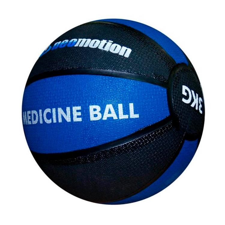 Мяч медбол Neomotion 3 кг NM-217-3-BE нат.литая резина