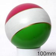 Мяч резиновый 100 мм арт.20