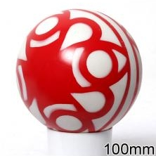 Мяч резиновый 100 мм арт.30 (сетка)