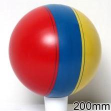 Мяч резиновый 200 мм арт.23 / 102