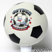 Мяч резиновый 200 мм арт.56 футбол