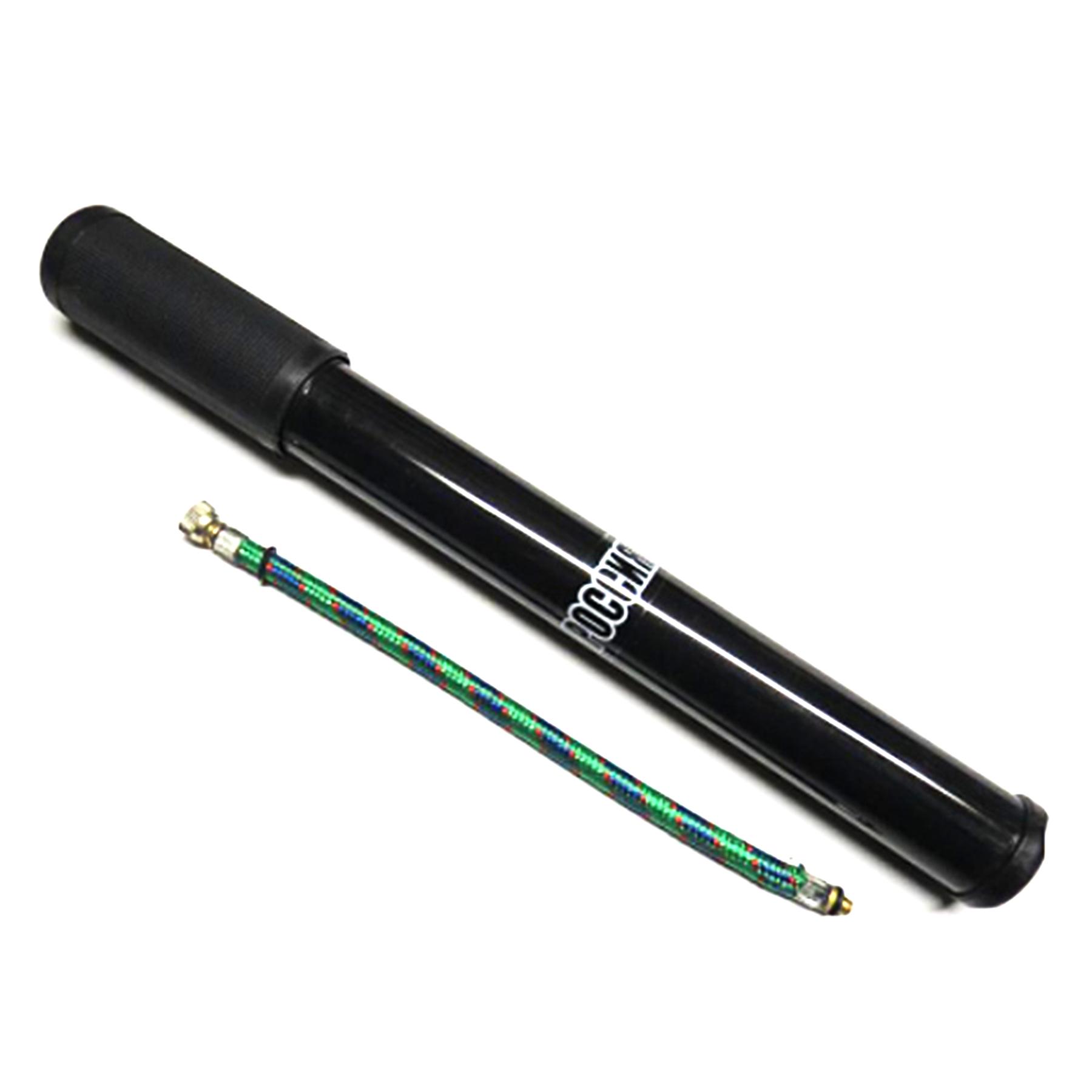 Насос ручной д/вело 30*300 мм, ПВХ черный 3273009-32