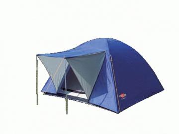 Палатка АТ NOV Nevada 3 (3,66 кг, водост. 1000 мм, 210*210см h-130см) с тентом