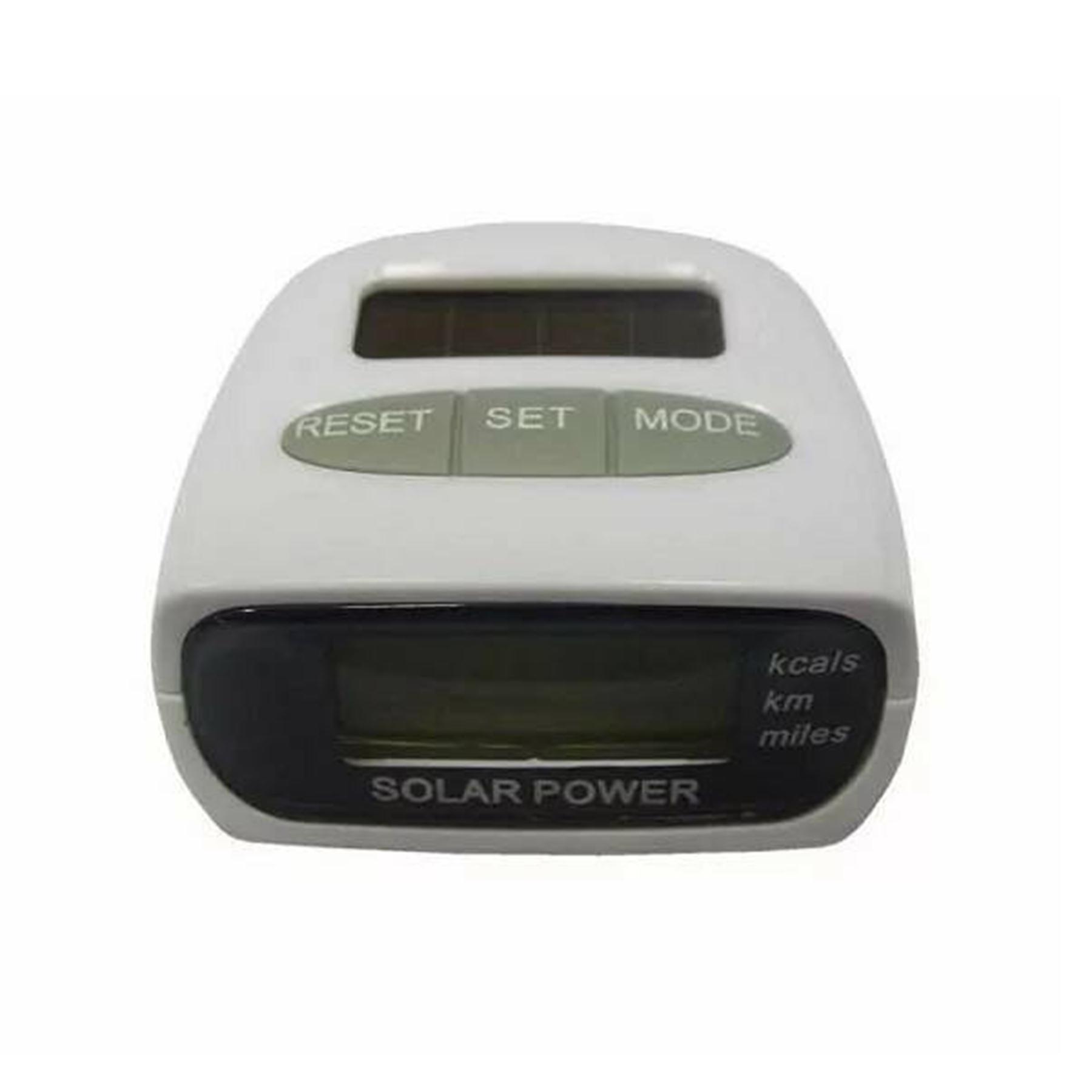 Шагомер Cliff HY-02T солнечная батарея 50*40 мм