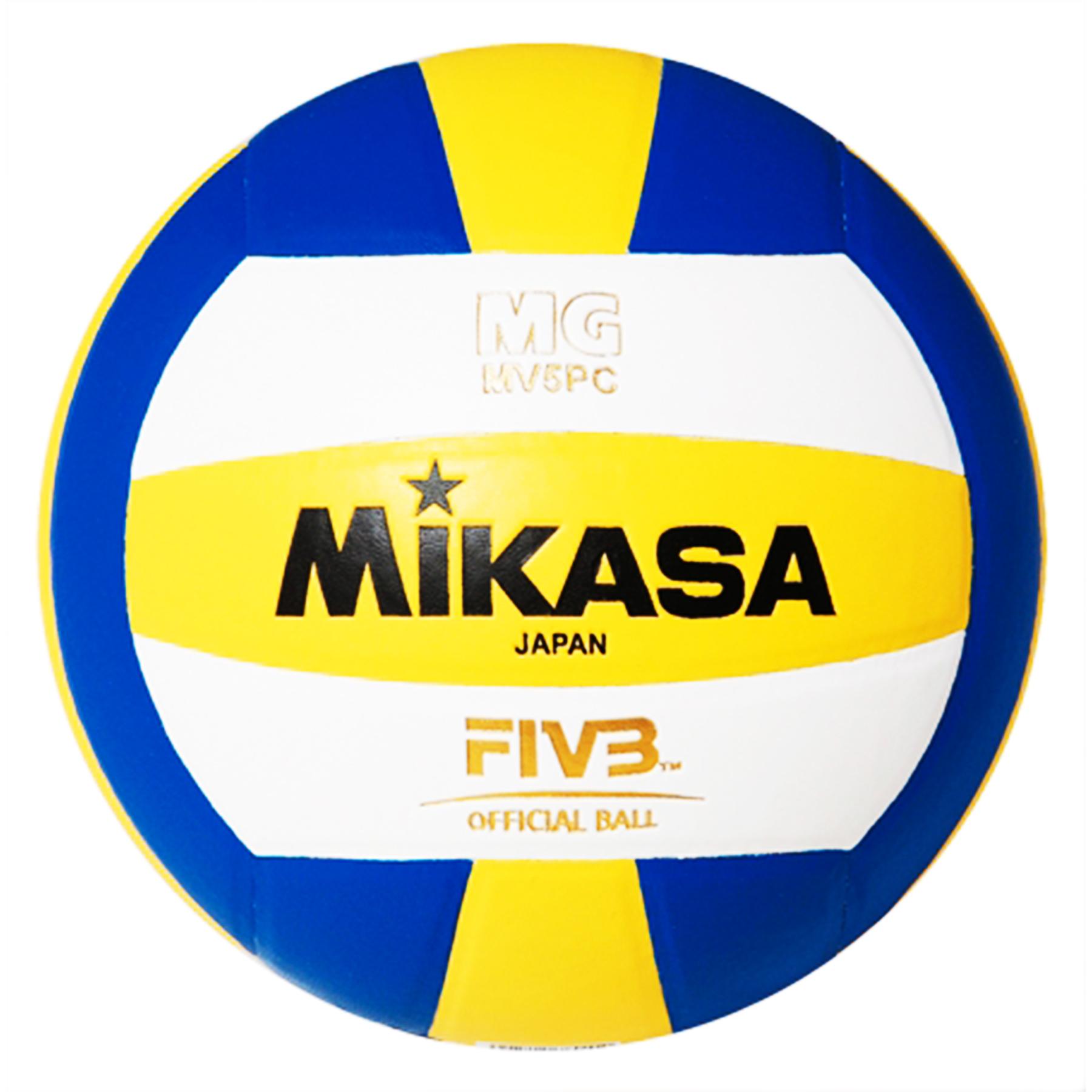 Мяч в/б Микаса MV5PC для тренировок, клееный, синт.кожа