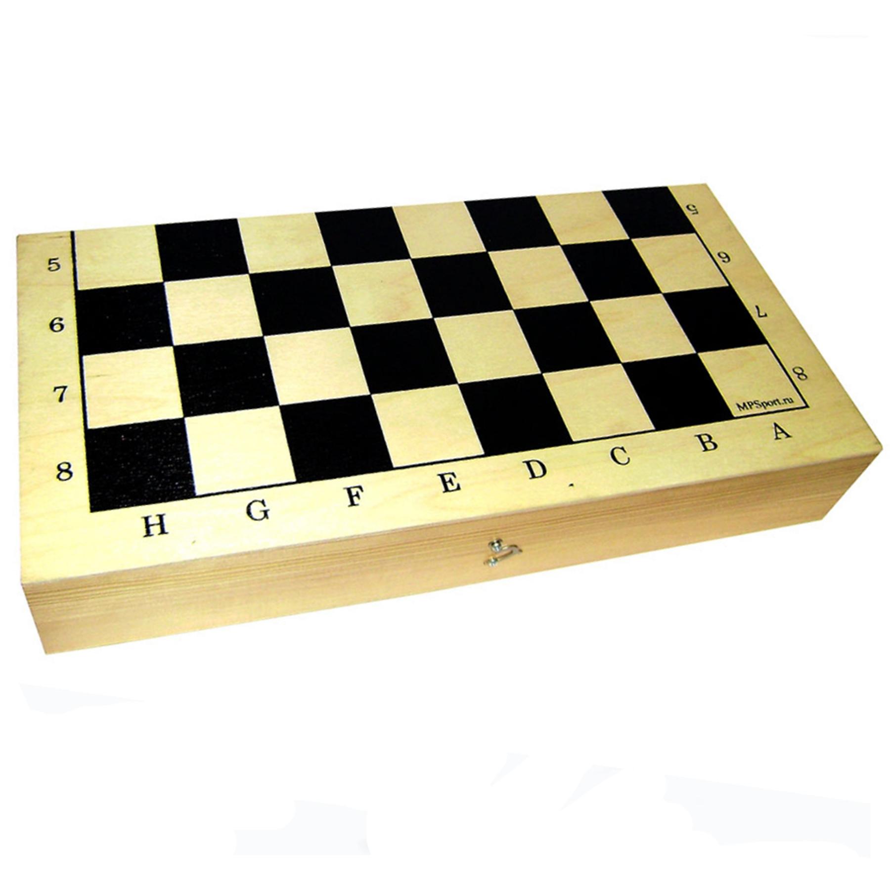 Доска шахматная деревянная Гроссмейстер арт. 02-03