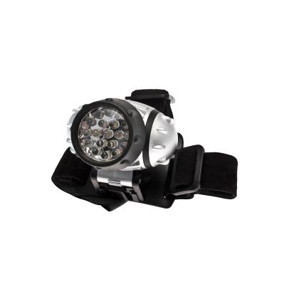 Фонарь Космос KOC-H19-LED налобный с элем.пит. 3*ААА (R03) 3 реж.яркости, миг.режим