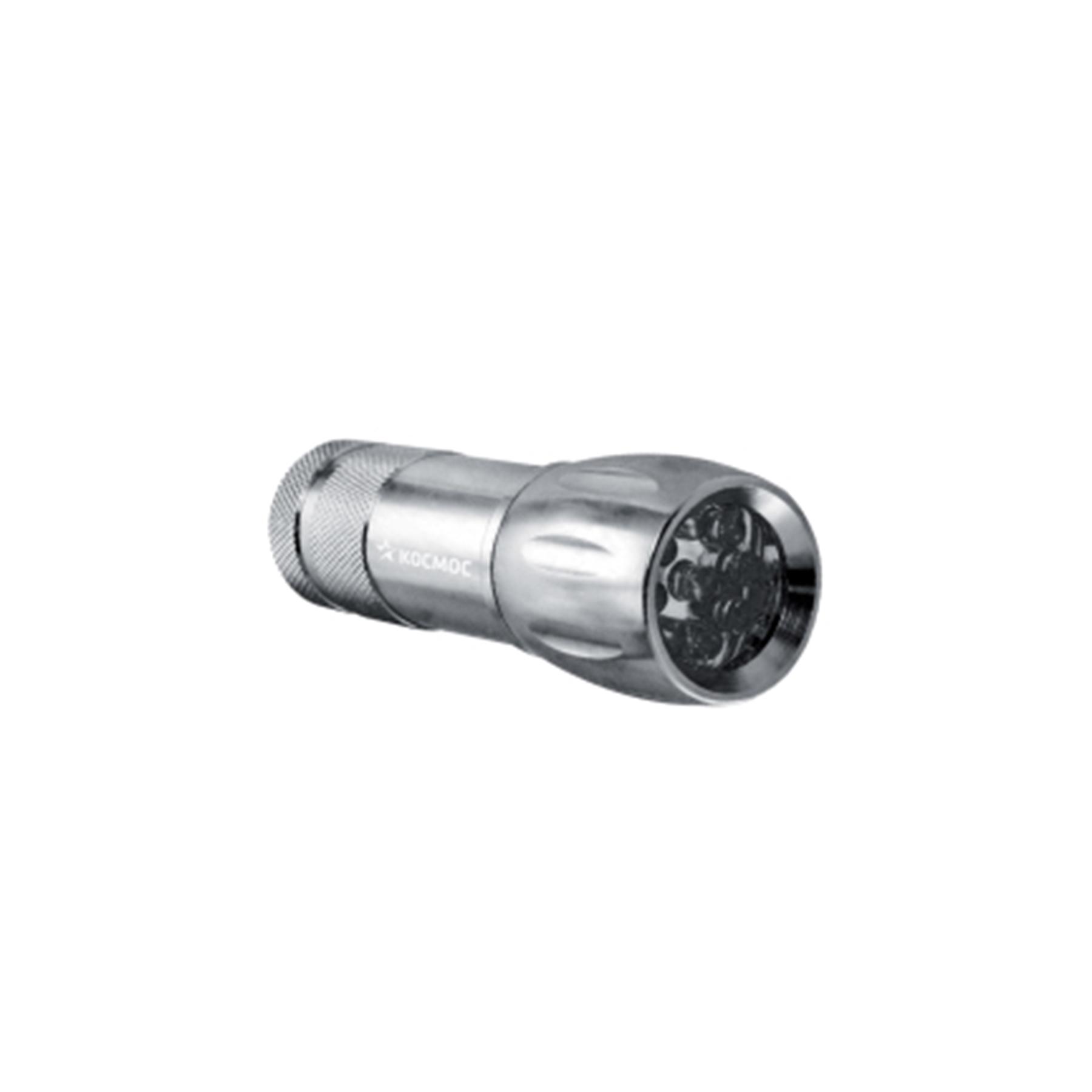 Фонарь Космос KOC-M2508-B-LED светодиод. 9хLED металл с элем.пит. 3*ААА
