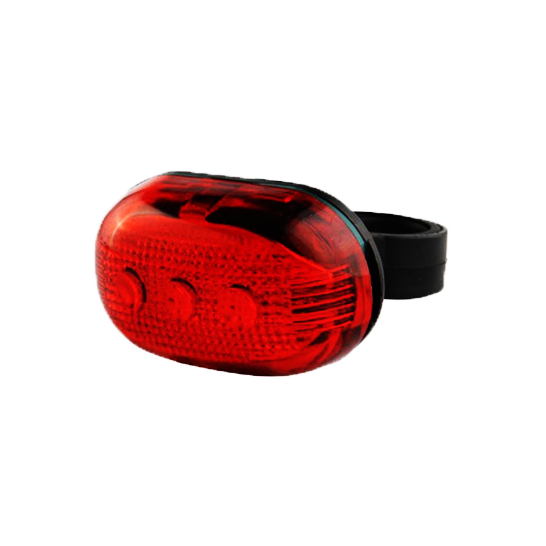 Фонарь задний JY-603Т  3 диода, 3 режима красный