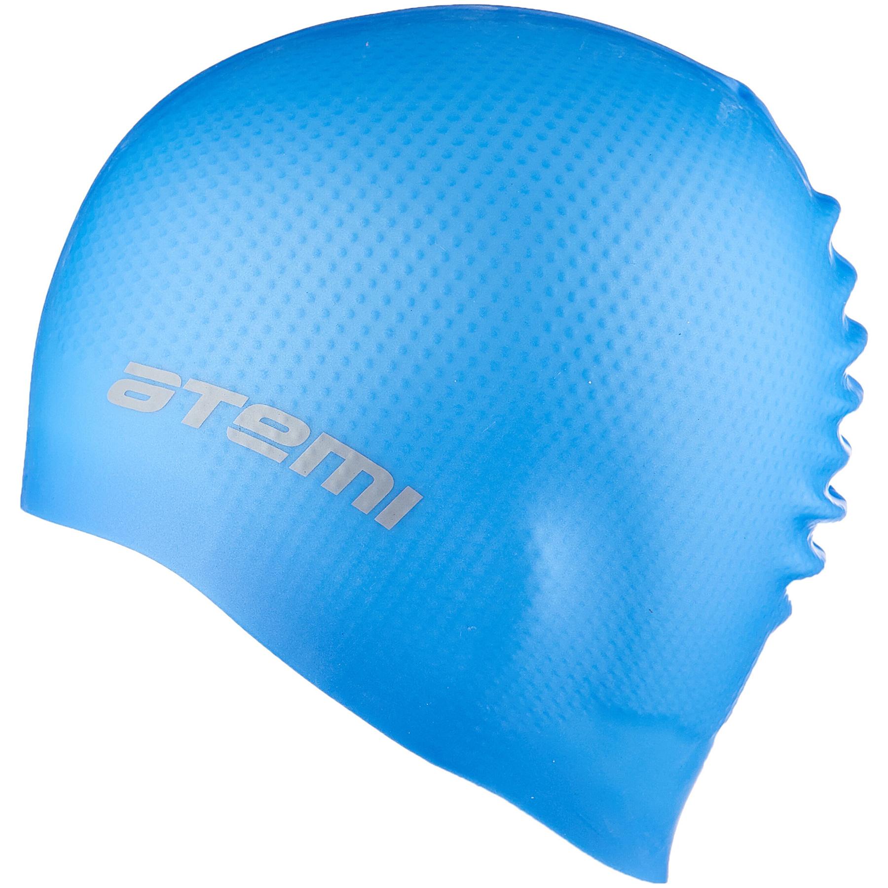 Шапочка АТ DC 501 силикон массажная голубая
