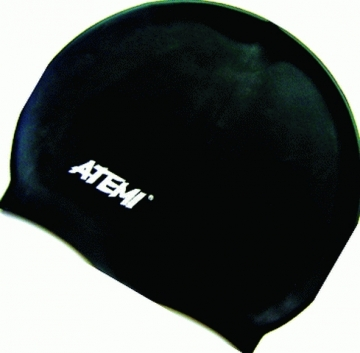 Шапочка АТ SC 301 силикон детская черная